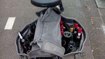 fiets flessen